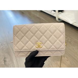 Chanel Wallet On Chain - 金球粉紫色 AP1450 B02916 ND359