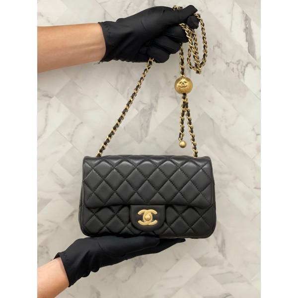 Chanel Mini Flap Bag - 20CM 金球口蓋包