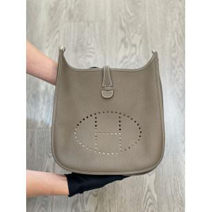 Hermes Evelyne III 29 bag - Etoupe 大象灰銀扣