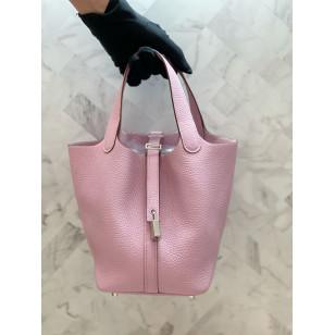 Hermes Picotin Lock 18 - X9 粉紫色銀扣